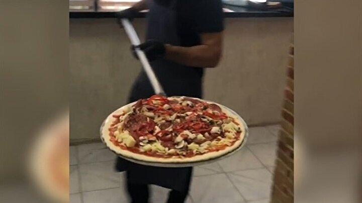 Gaziantep usulü İtalyan pizzası