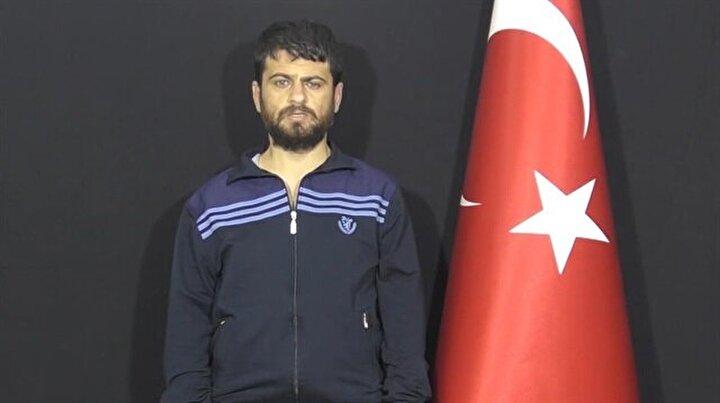 MİT'in operasyonu ile paketlenip Türkiye'ye getirildi, sorguda suçunu itiraf etti