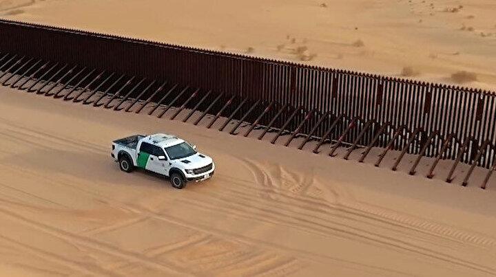 ABD ve Meksika arasındaki sınırın görüntüleri