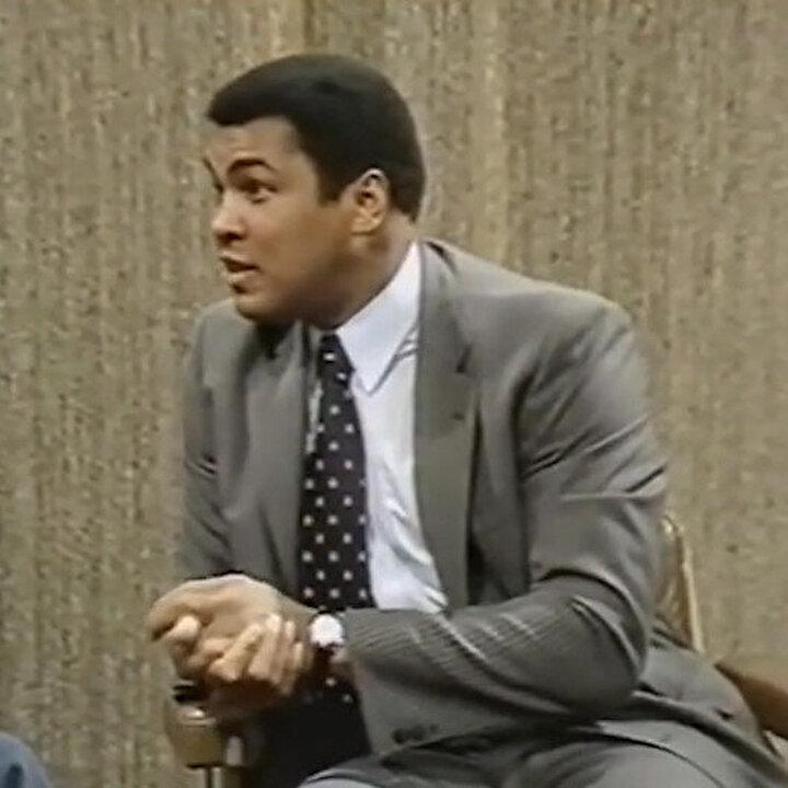 Koruman var mı? sorusuna Muhammed Ali'den muhteşem cevap