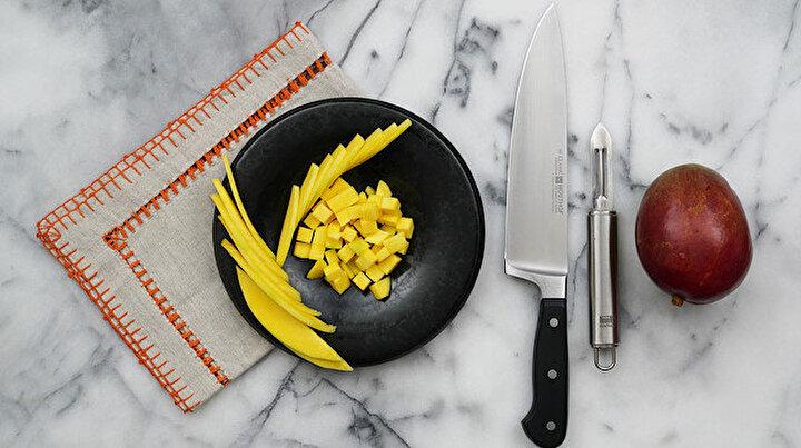 Mango nasıl doğranır?