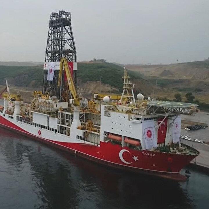 Petrol ve doğalgaz arama gemimiz Yavuz Antalya'da