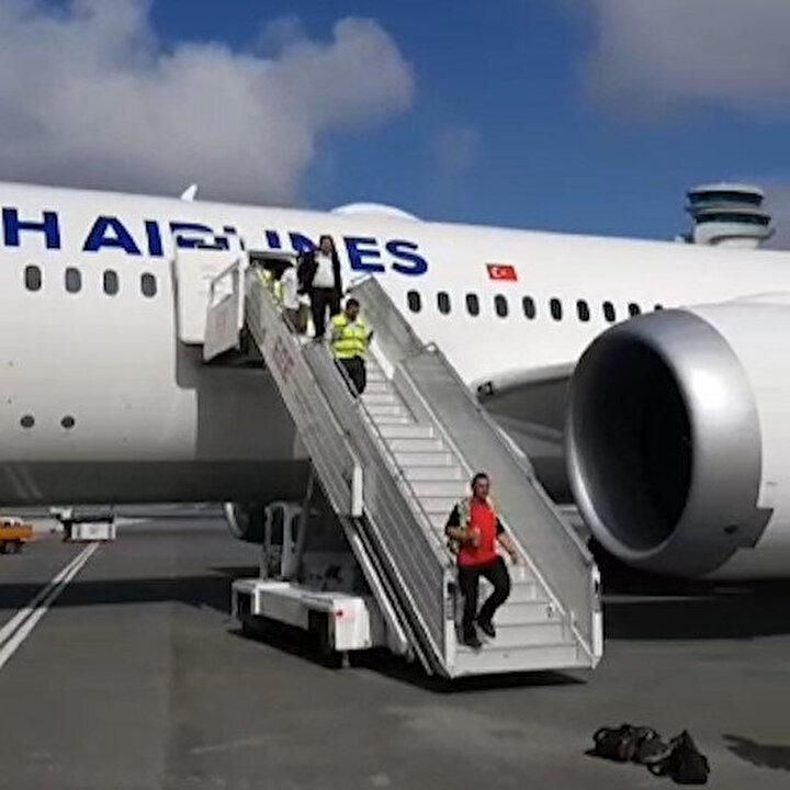 THY'nin rüya uçağı İstanbul'a iniş yaptı