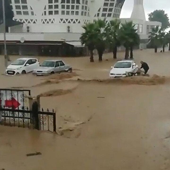 Düzce'deki sel felaketinden yürek burkan görüntüler