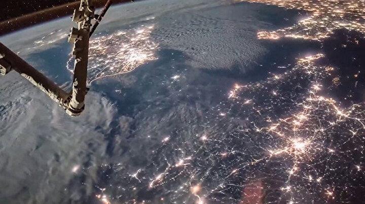 Uluslararası Uzay İstasyonu'ndan: Dünya Işıkları