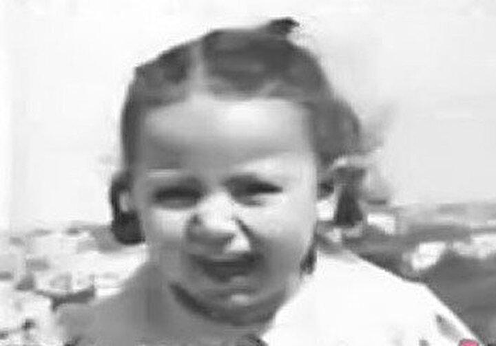 Medîha Kâmil'in bebeklik fotoğrafı...
