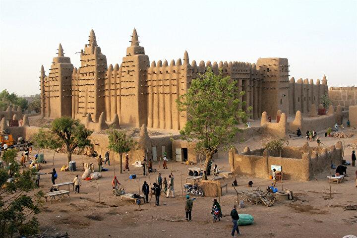 Afrika'nın en büyük ilim merkezi Timbuktu.
