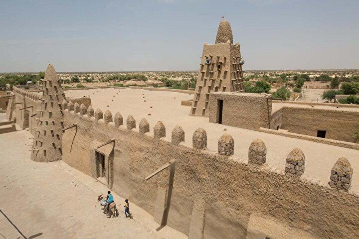 Timbuktu'daki Djenberger Camii.