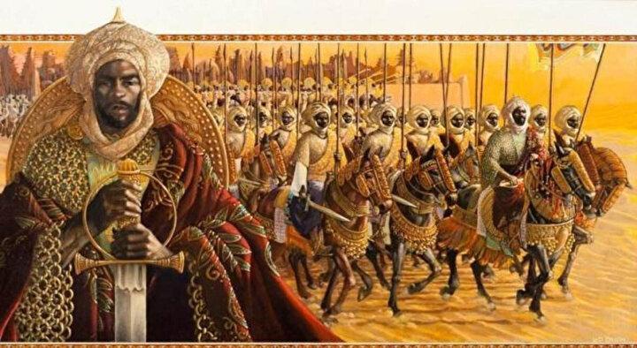 Mali Kralı Mensa Musa.