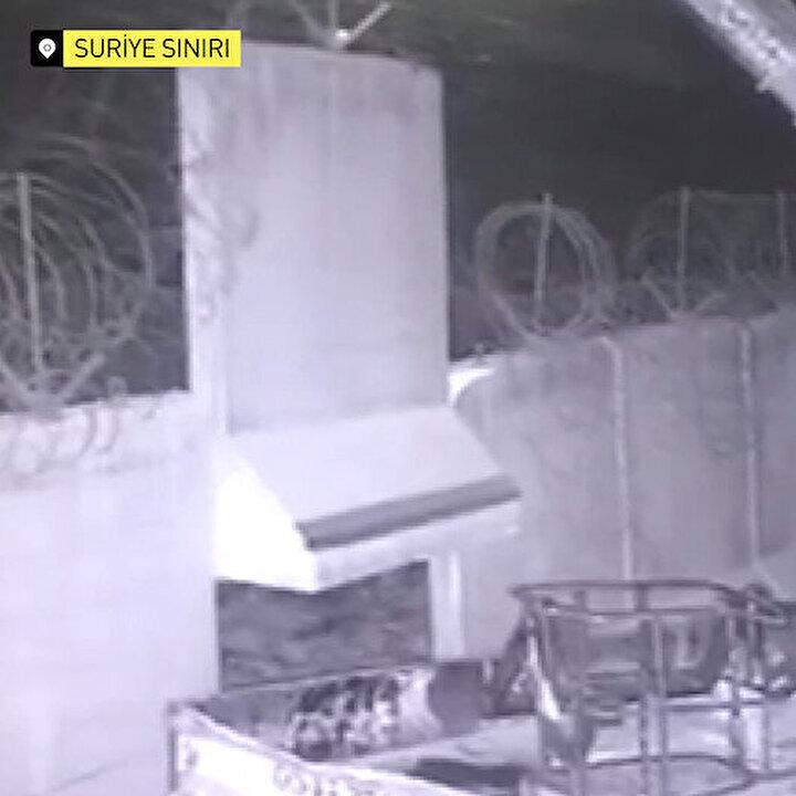 Komandolar Suriye sınırından böyle girdi
