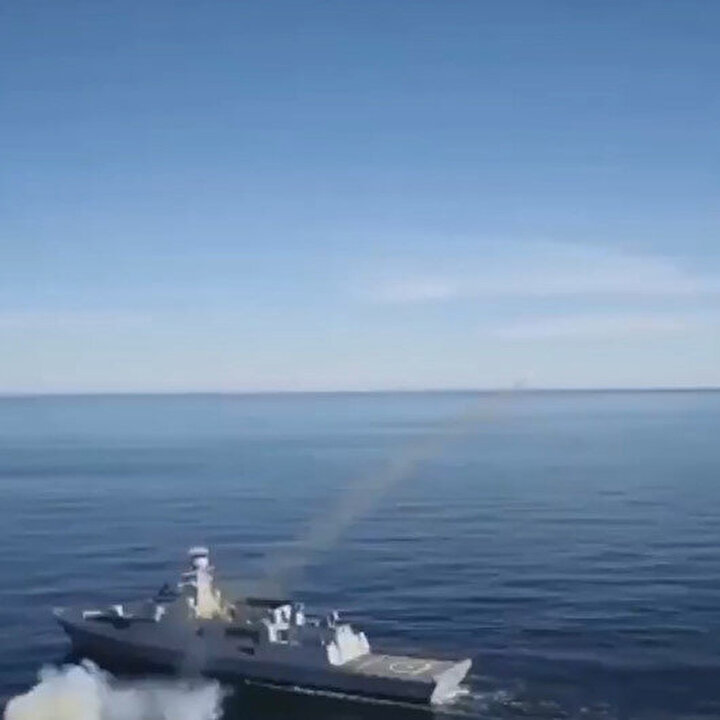 İlk milli deniz seyir füzesi ATMACA başarıyla fırlatıldı