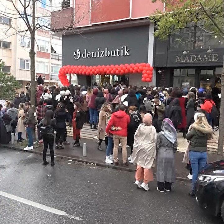 İstanbul'da 'Black Friday' izdihamı: 3 kişi hastanelik oldu