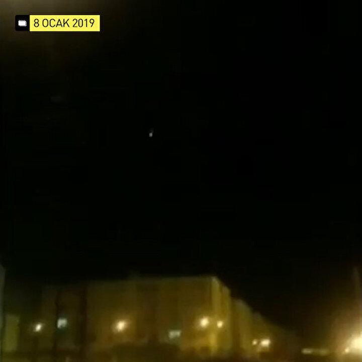 Ukrayna uçağının İran füzesi ile vurulduğu anın görüntüleri yayınlandı