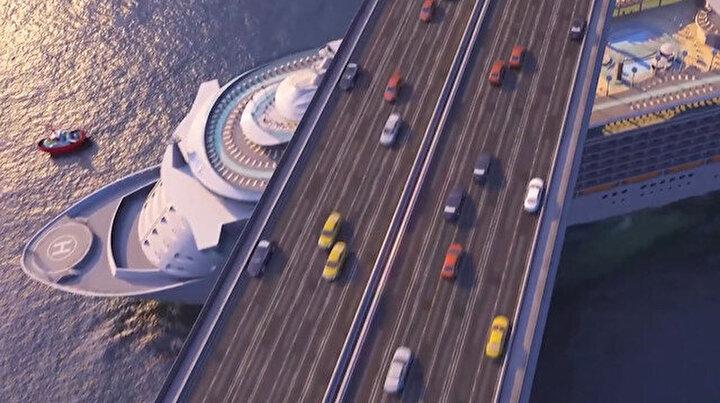 Ulaştırma ve Altyapı Bakanlığı tarafından Kanal İstanbul'un son tanıtım filmi yayınlandı