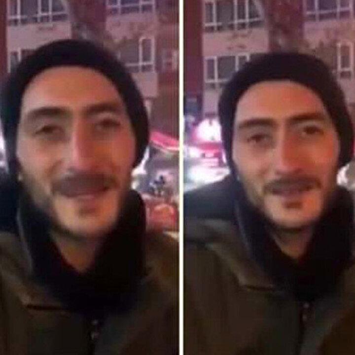 Sokakta yaşayan Hasan'dan ders niteliğinde sözler