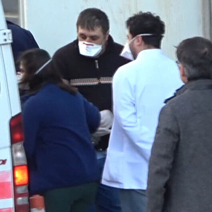 Çinli hasta kadın apar topar ülkesine gönderildi