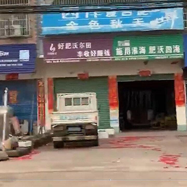 Çin'de salgının başladığı Hubei sokaklarından görüntüler