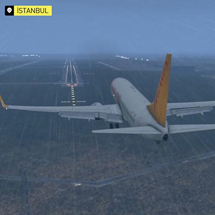 Animasyonlu anlatım: 'Uçak pistten nasıl çıktı?'