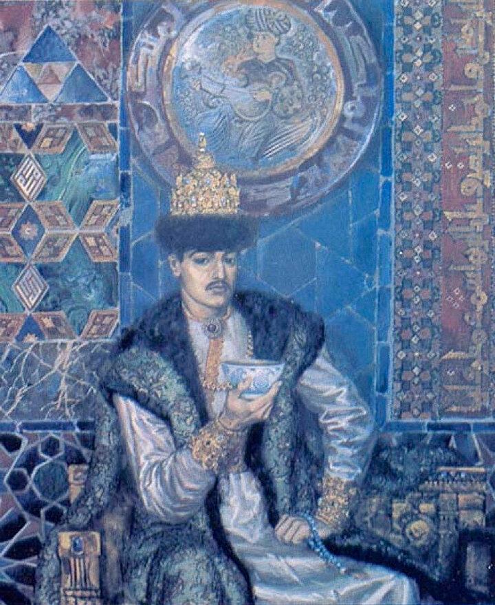 1535 yılında Can Ali Han'ın ölümünden sonra Safa Giray yeniden tahta geçmiştir.