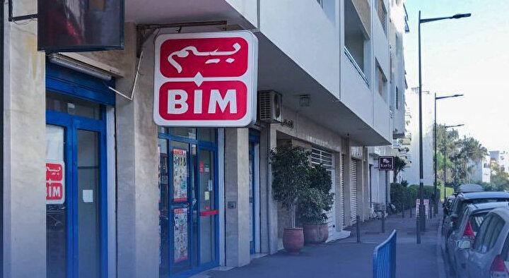Fas'ın başkenti Rabat'taki BİM mağazası.
