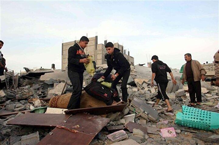 İsrail in Gazze ye düzenlediği saldırılar devam ediyor.