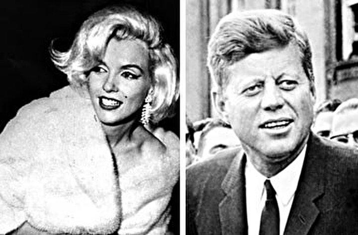 J.F. Kennedy: Sadece Marilyn Monroe ile birlikteliği konuşuldu. Oysa ki Suikasta kurban giden ünlü başkan Kennedy, Angie Dickinson, Danimarkalı gazeteci Inga Arvad, striptizci Blaze Star, dönemin ünlü mafya babalarından İtalyan asıllı Sam Giancananın metresi Judith Exner Campbell ve Fiddle ile Faddle lakaplı, Beyaz Saray sekreterleri Priscilla Weir ile Jill Cowan ile yasak aşk yaşamıştı.