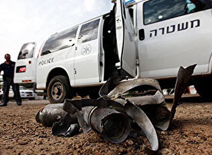 Filistin'den İsrail'e roket
