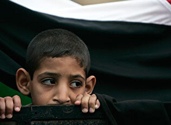 Peki ya Filistinli çocuklar?