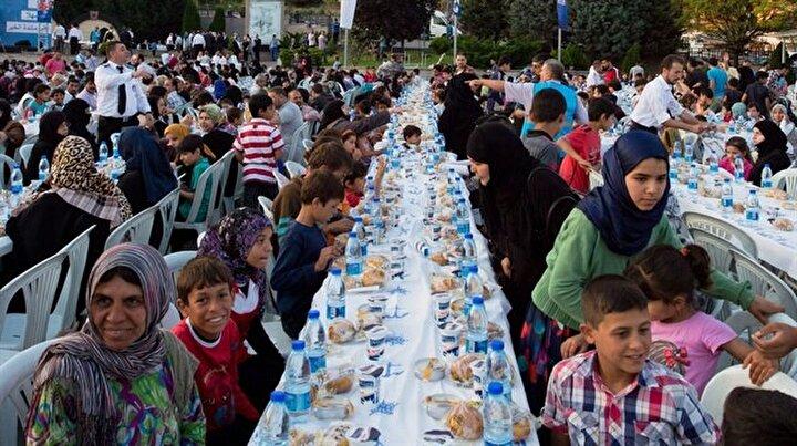 Diyanetten 9 bin Suriyeli'ye iftar