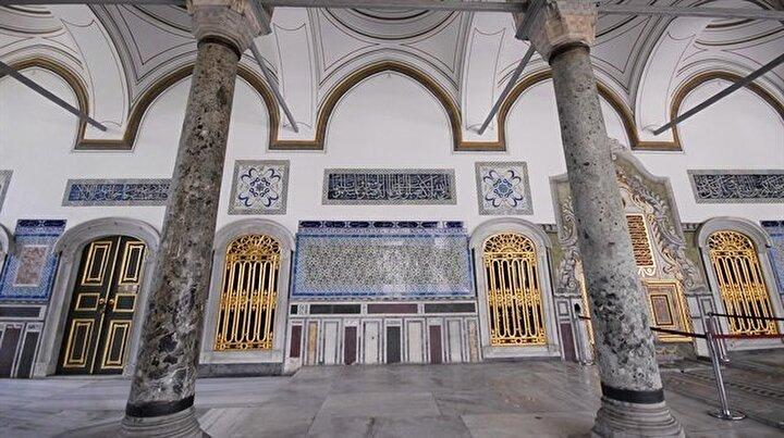 Topkapı Sarayının en özel mekânı