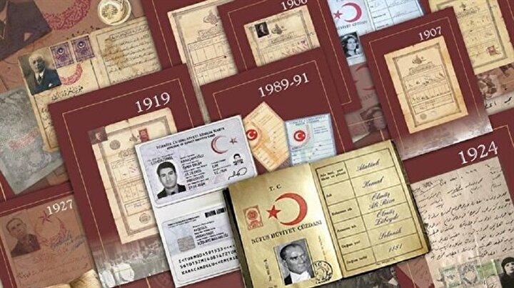 Osmanlıdan günümüze kimlik kartları