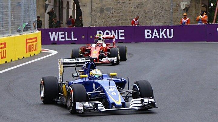 Azerbaycanda Formula 1 coşkusu