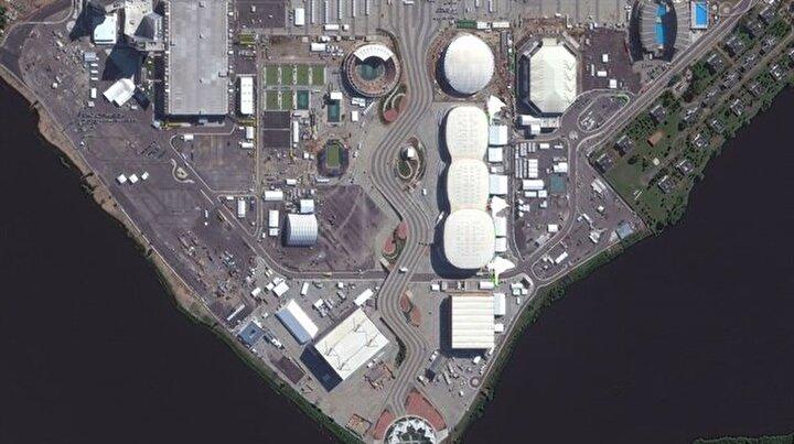 Rio Olimpiyatları uzaydan görüntülendi