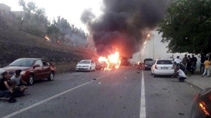 Diyarbakırda alçak saldırı