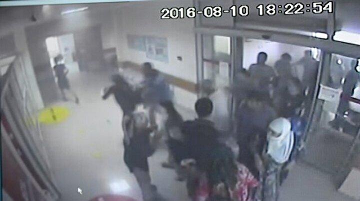 Mardindeki saldırı anı kameralarda