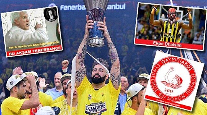 Fenerbahçe Euroleague şampiyonu oldu capsler patladı