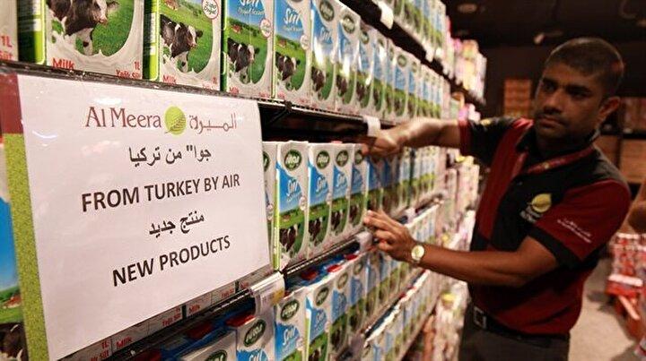 Katar'da Türk ürünleri