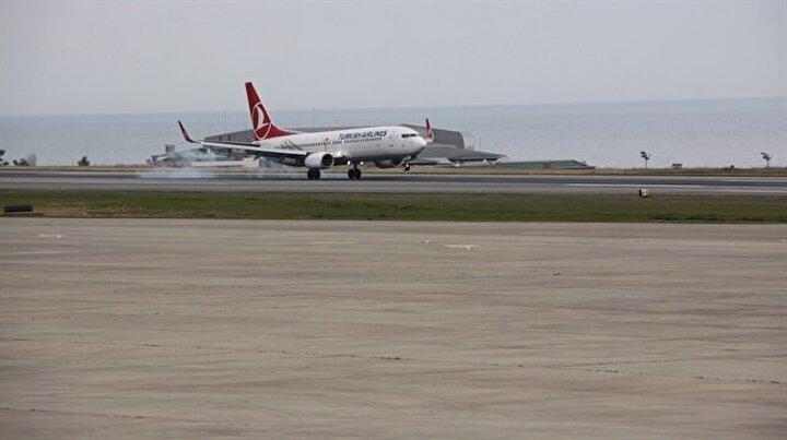 Trabzon Havalimanında uçuşlar normale döndü