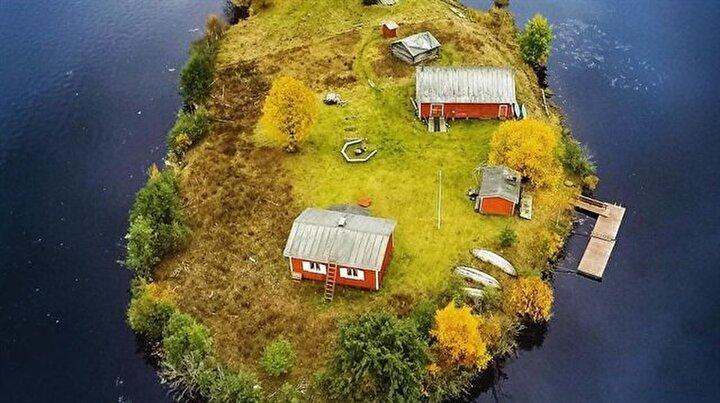 Bir adanın 4 mevsim hali