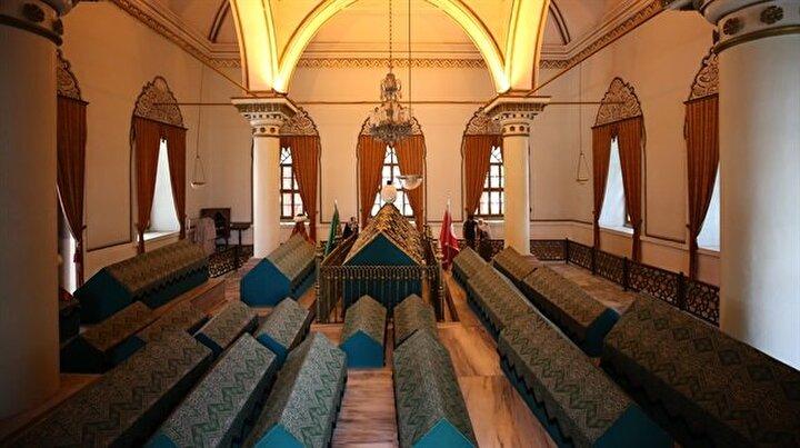 Osmanlının kurucularına ziyaretçi akını