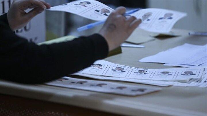 Oy sayımı başladı!