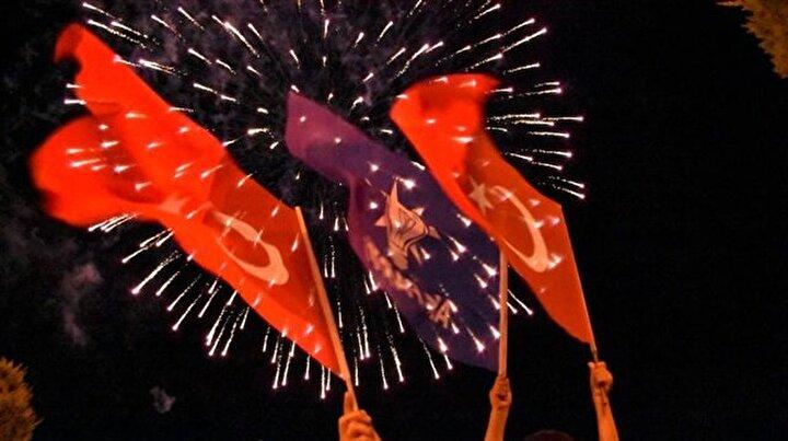 Yurt genelinde seçim kutlamaları