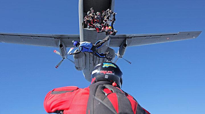 6 bin metre yükseklikteki rekor denemesi başarısızlıkla sonuçlandı
