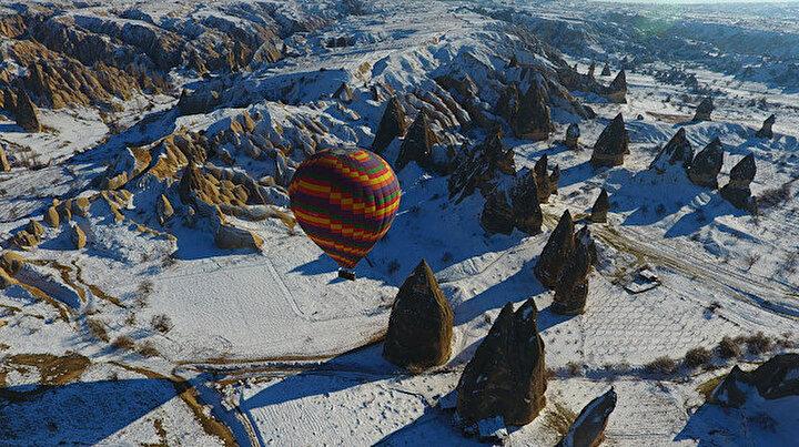 Erciyesde kayak Kapadokyada balon ve kaplıca keyfi