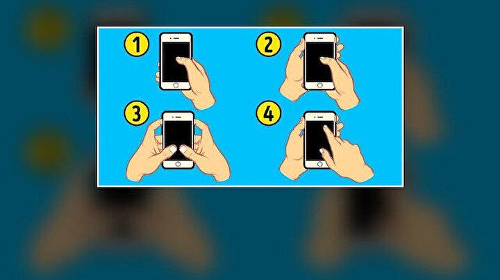 Telefonu tutma şekliniz kişiliğinizi ele veriyor