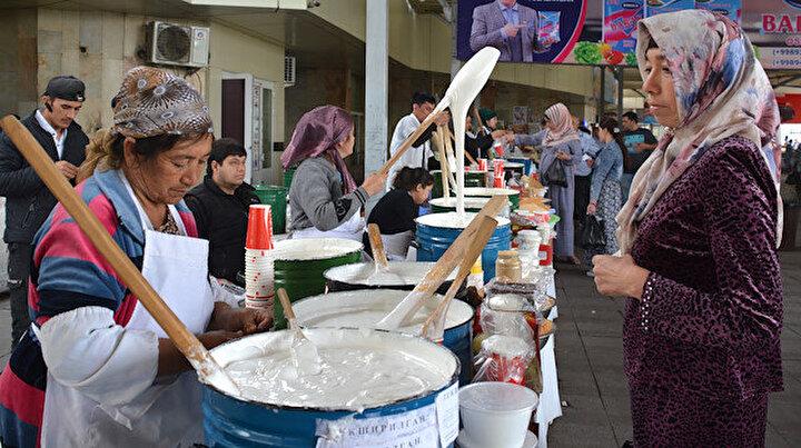 Özbeklerin Ramazan tatlısı: Nişalda
