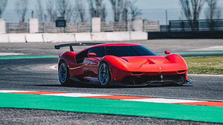 Ferrari özel pist aracı P80/Cyi tanıttı