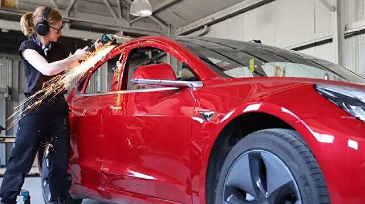 Elon Muskı beklemedi ve Model 3ü kamyonete çevirdi