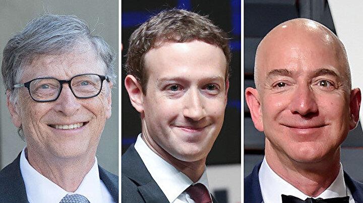 Dünyanın en zengin 20 ismi