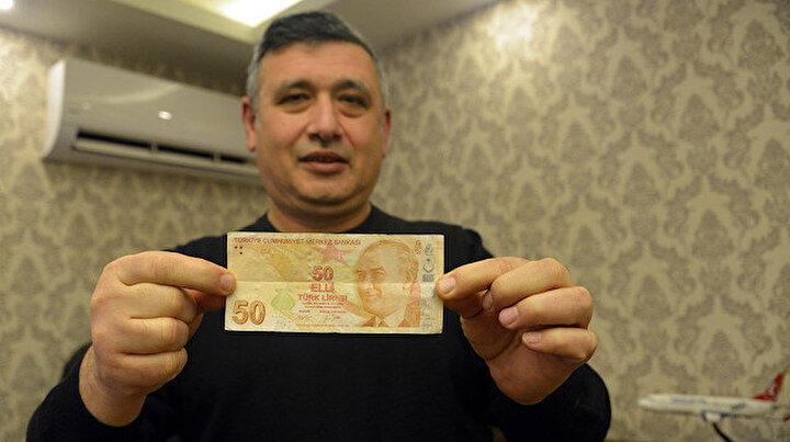 Kahramanmaraşta bir esnaf hatalı basım 50 lira için 50 bin lira istiyor